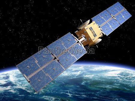 kommunikation satellit