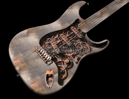 den grungy steam punk guitar
