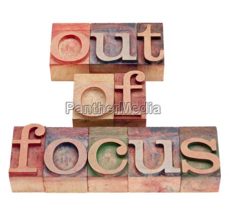 typografiske fokus at fokusere forvirret hyppig
