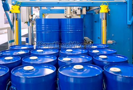 barrel pafyldning machine