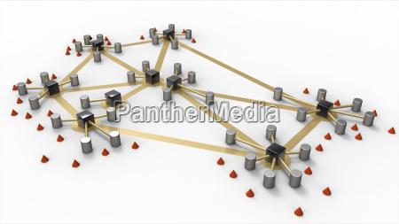 skematisk netvaerk