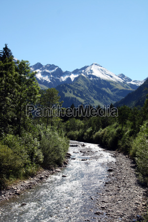bjerge alper vandretur vandre spejling august