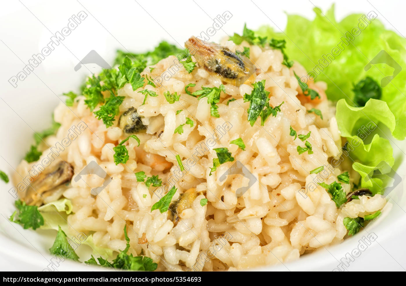 risotto, with, seafood - 5354693