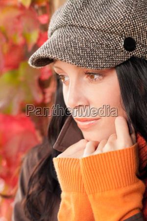 efterar portraet sod kvindelig model ansigt