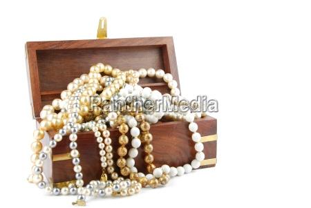 jewel box pa hvidt