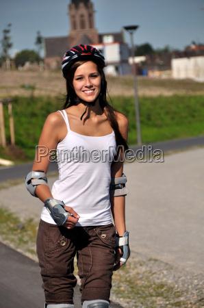 kvinde fritid sport aktiv outdoor unge