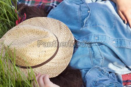 kvinde fritid sommer sommerlig forar var