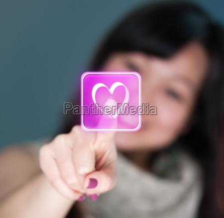 virtuel valentine kaerlighed
