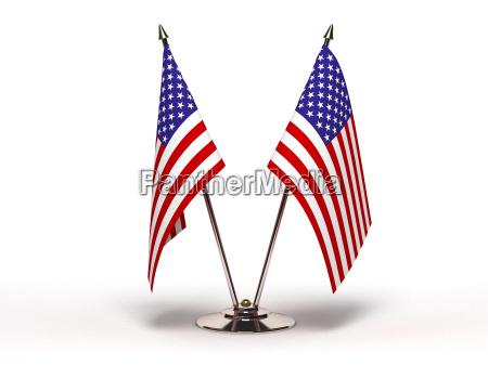 miniature flag af usa