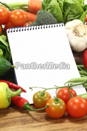 vegetable diet reap purchase notebook recipes