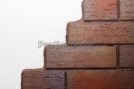 hus bygning klinker del sten tekstur