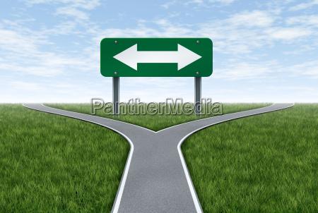 skilt signal strategi tur rejse koncept