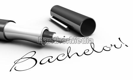 bachelor pen koncept