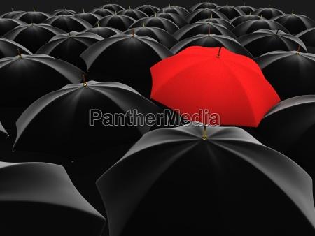 unikke rod paraply