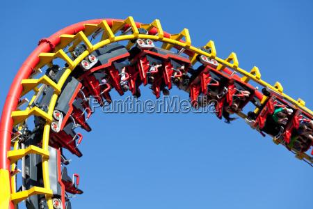 rollercoaster mod bla baggrund