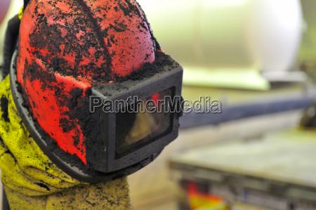 beskyttelsesdragt beskytte hjelm beskyttelsesbriller beskyttende maske