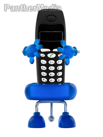 holder with phone