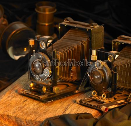stadig liv med nostalgiske kameraer
