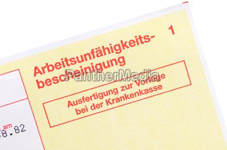 certifikat for invaliditet