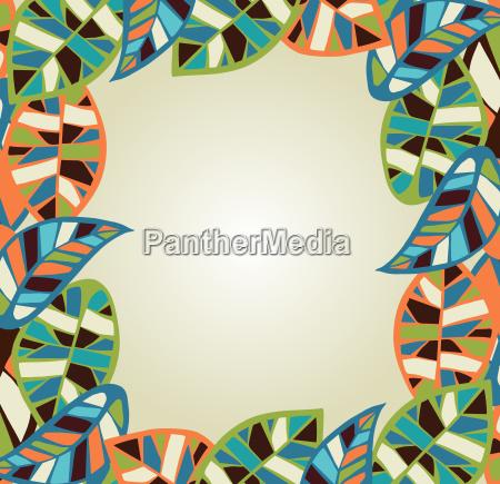 abstrakt blade baggrund
