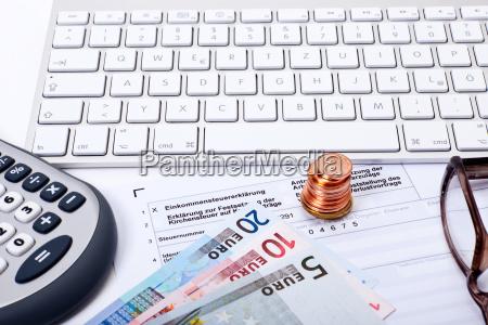 conto imposte sul reddito