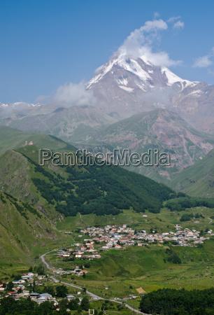 tinde klimaks hojdepunkt georgien kaukasus