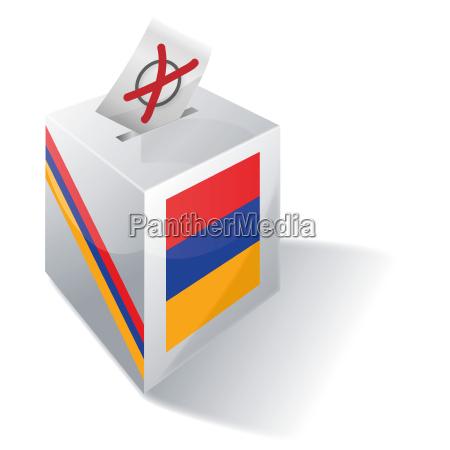 afstemning armenien politik valg kaukasus