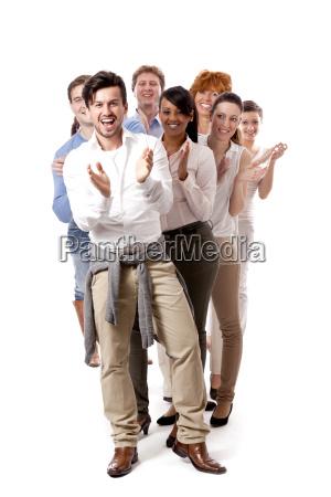 kvinde medarbejder riege afsnit valg gruppe
