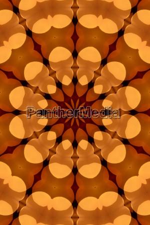 spejling abstrakt kalejdoskop jaevnligt effekt figur