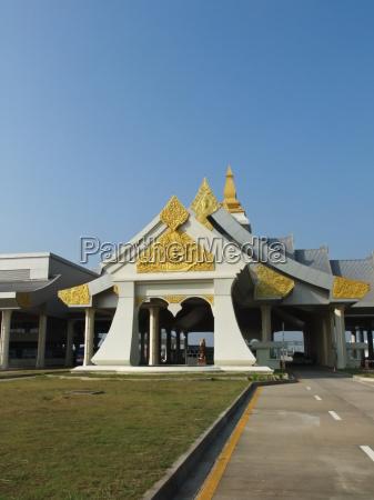 facade af den tredje thai lao