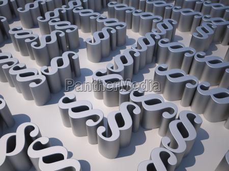 labyrint af afsnit