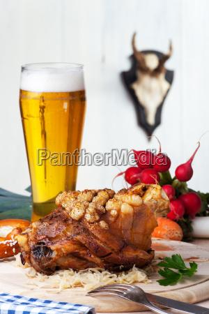 bavarian pork knuckle