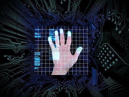 bla grafik elektronik sorte sort dybsort