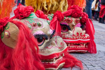 ferie kinesisk milan parade nye ar