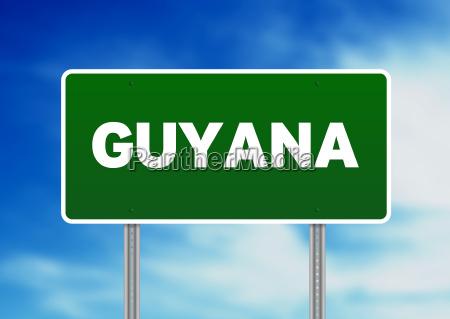 hovedvej latinamerika sydamerika spansk guyana bred