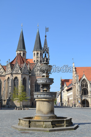 figurer vabenskjold vandforsyning brunswick middelalderen