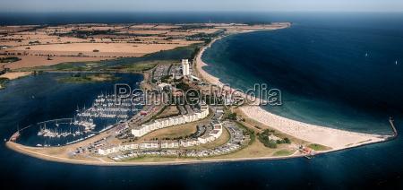 femern south beach luftfoto