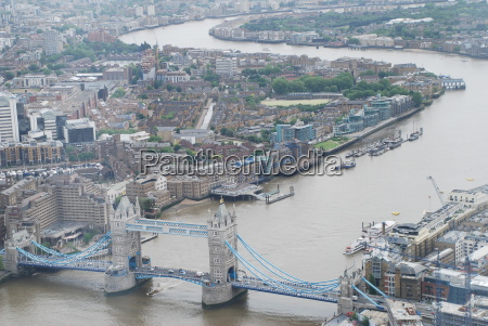 tower bridge and the thames city