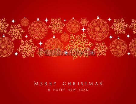 merry, christmas, decorations, elements, border. - 10100848