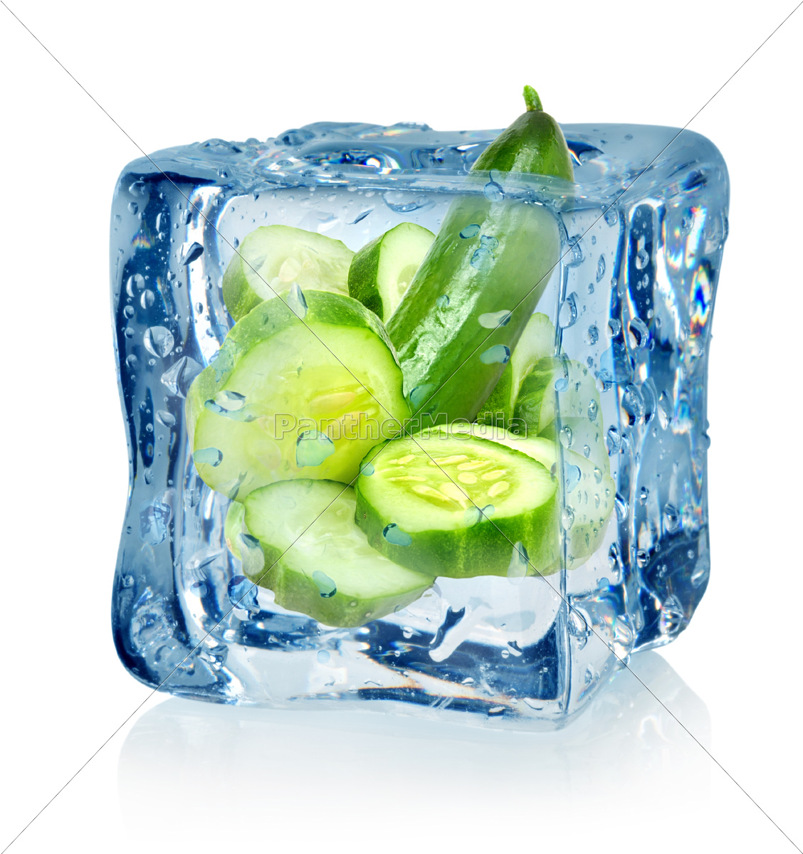 ice, cube, and, cucumber - 10125715