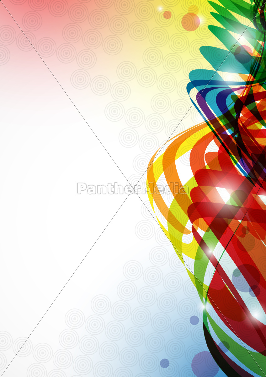 abstrakt, farverig, baggrund. - 10186749