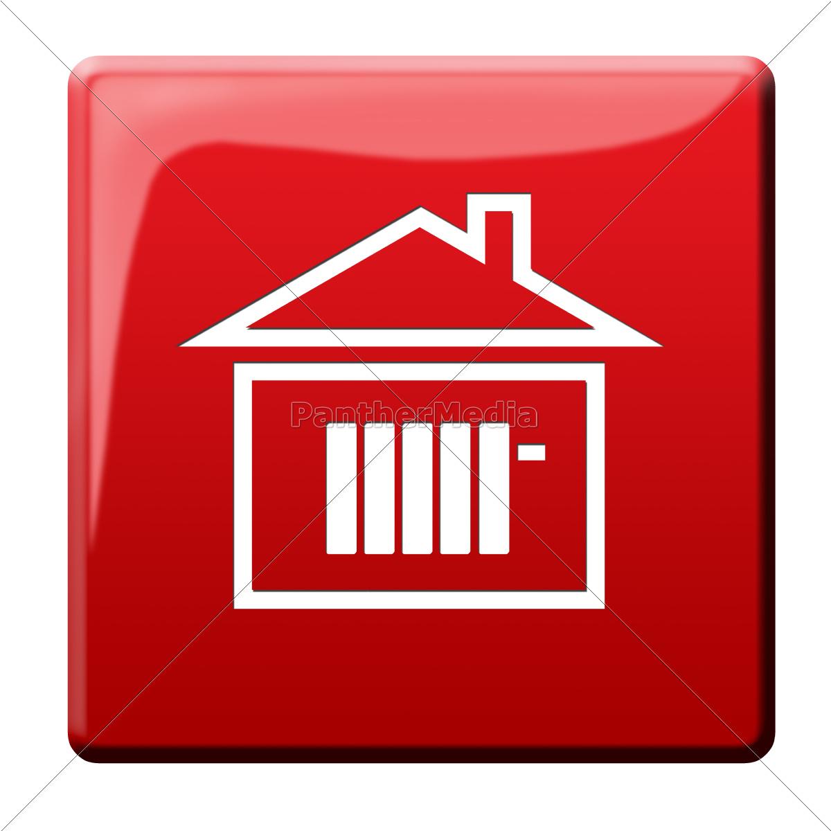 ikon, for, opvarmnings, omkostninger - 10186079
