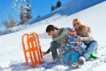 familie, har, det, sjovt, på, frisk - 10196673
