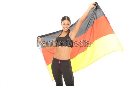 football fan for germany