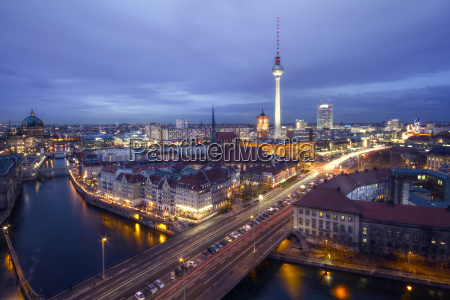 skyline berlin i hdr