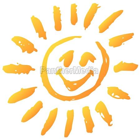 sma sjove sol og solskin