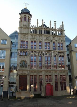 det historiske radhus facade wesel
