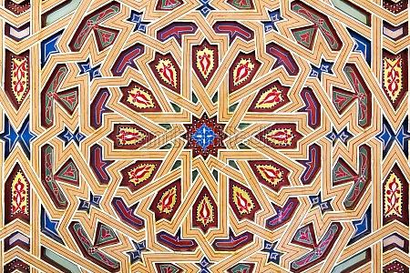 detalje kultur ornamentik dekor nordafrika traditionel
