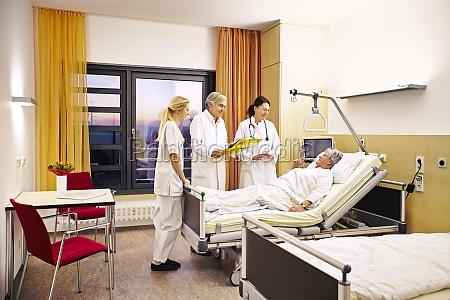 hospital laegekonsultation patient