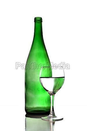 glas baeger drikkeglas drik flydende gron